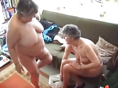 One Grannies Try Out their Toys