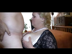 Granny Likes to Play roughly Cock in Panties