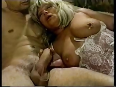Hot grannies exploring their big hard nipples on huge boobs – best granny porn tube!
