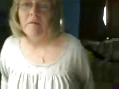 54 years Busty Granny, homeAlone labelling