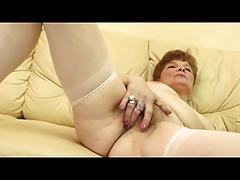 Granny in Open Hose Fingers plus Toys