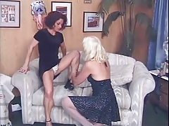 2 Mature Ladies - lick, finger, coupled with fuck