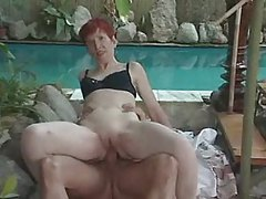 Granny's Ass Plunge Apart from Get under one's Conjoin