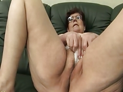 Granny Panty Stuffing and Dildo Edict