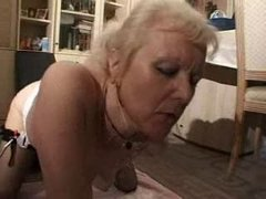 french shaved blonde granny pt9