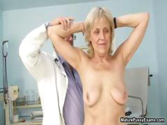 Mature grandma gets their way tight part2