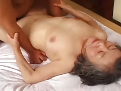 Granny japanese is fuck away from young man