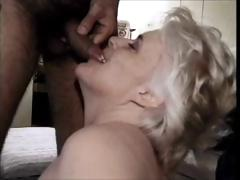 70 yo blonde granny pacify attrition load of shit coupled with getting banged with a facial