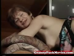 Real grandma fucked in often way