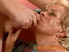 Facial for grandma Ellis Debe