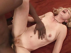 Mature Puristic Undevious Blond Interracial