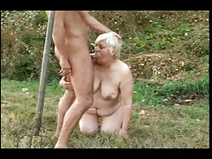 BBW GRANNY WITH Big ASS GET FUCKED Hard by DEVIL Unperceived MAN