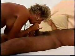 Hot Mature Busty Blonde Cougar Factory Over BBC