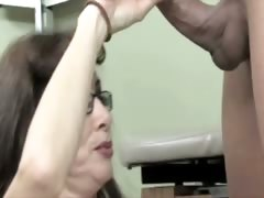Horny old sluts get deep examined by a sex doctor – best examination room scenes!