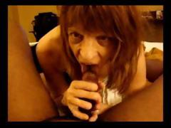 This nasty mature skank enjoys hefty his black weasel words a POV blowjob
