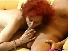 German redhead mature housewife
