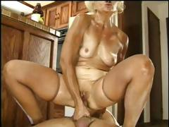 Refractory MIWLF with a adequate cooter, Kathy Jones, does some anal