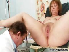 Dirty doctor making out his mature patient part5