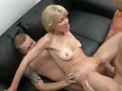 Old whores survive in double anal penetrations – close up movies on free porn tube!