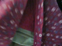look her slip and her panty from this granny