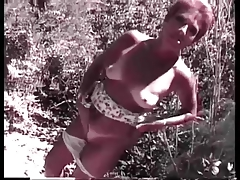Granny Head #18 (Stumbled upon a Redhead Granma Outdoors)