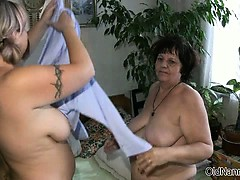 Hellacious mature whores go crazy dildo part6