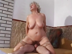 granny here slaggy tits goes anal