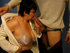 Big Ass Granny Bus and Student - 38