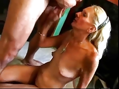 HOT Be wild about #27 (Blonde Granny fucked good on the Floor)