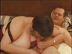 French BBW forth a Kinky Threesome