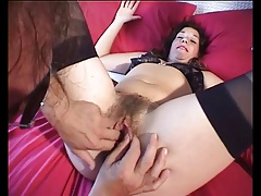chafing a very soft mature pussy