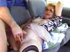 Mature get hitched filmed by their way cuckold husband in his car