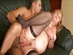 BBW Granny loves some young Load of shit