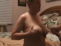 Wanking-off first of all Her #12 (Granny GILF Cumshot first of all say no to Boobs)