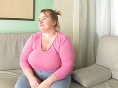 Redhead-BBW-Granny fucked by young Guy