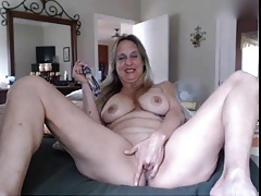 Nice granny playing just about dildos - part2