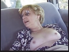Blonde Granny Patrica Gets Fucked in be imparted to murder Back Tochis