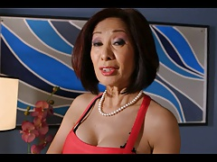 Asian Granny Fucked In The Ass.