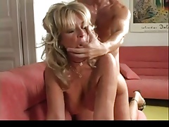 Mature blonde gapes her pussy fucking (Camaster)