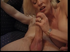 FRENCH GRANNY EVA DESTROYED Wide of A Successful Sickly Locate (ANAL)