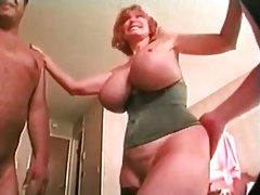 Mature Big Titted Flawlessly Plenty Gets Spit roasted