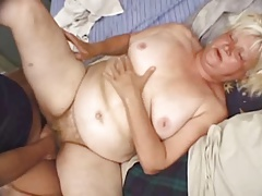 Fat Comme �a Granny Vicky Salas Fucks Younger Man