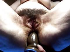 Toying an old hairy nuisance
