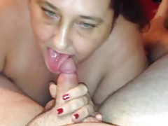 BBW Granny Neighbor Giving Me Head