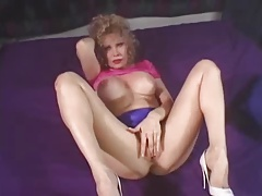 Big Jugs Blonde GILF Teddi Barrett Anal Fuck and CumShot