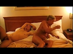 Gangbang Granny Be in love with Cock