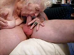 Granny Awesome blowjob! NEW Aged Swell up me