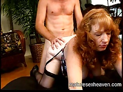 Granny's Mature Sexual intercourse Party Part 3