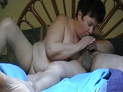 Hot couple (short hairy granny) p2