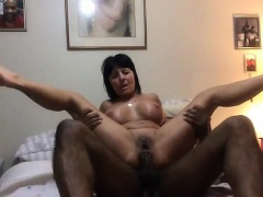 Fucking a Granny\'s Asshole with His BBC